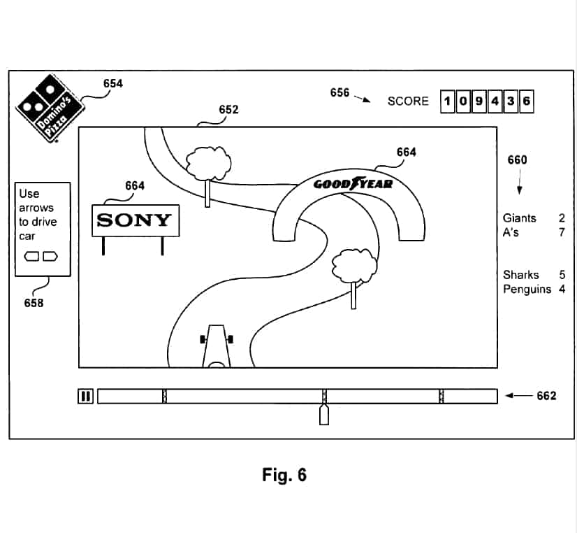 SCEA's PS4 Patent Shows New Form Of Advertising | Dual Pixels