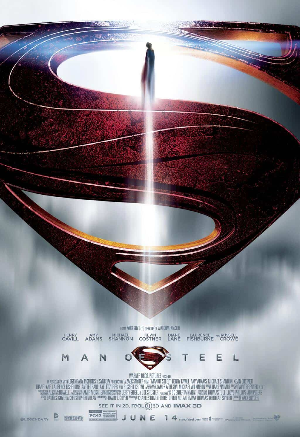 New Man of Steel Poster