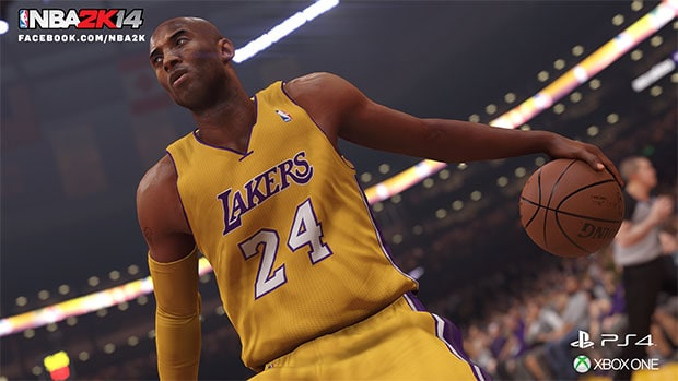 Kobe Bryant PS4 Xbox One NBA 2K14