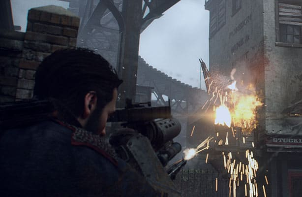 New Gameplay Screenshots For The Order 1886 - Dual Pixels