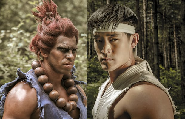 Joey Ansah (Akuma) & Mike Moh (Ryu) Interviews and Behind-The-Scenes | Street Fighter Assassin's ...