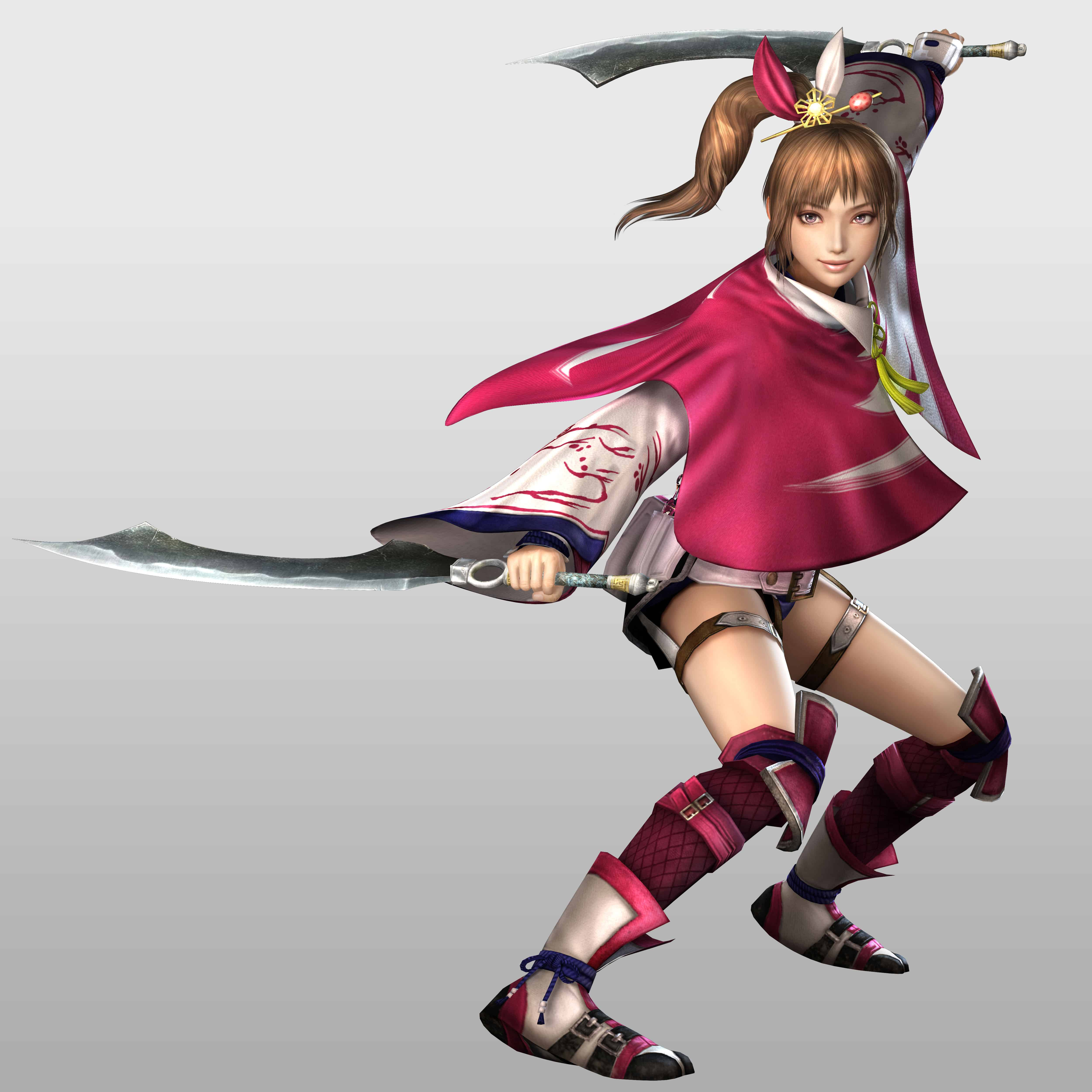 Warriors Orochi 4 All Female Characters: Dual Pixels