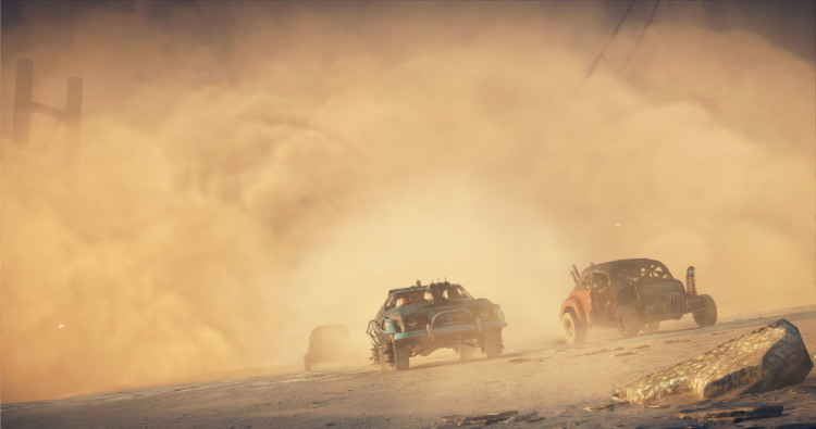 Mad Max - Car Combat Dust Storm