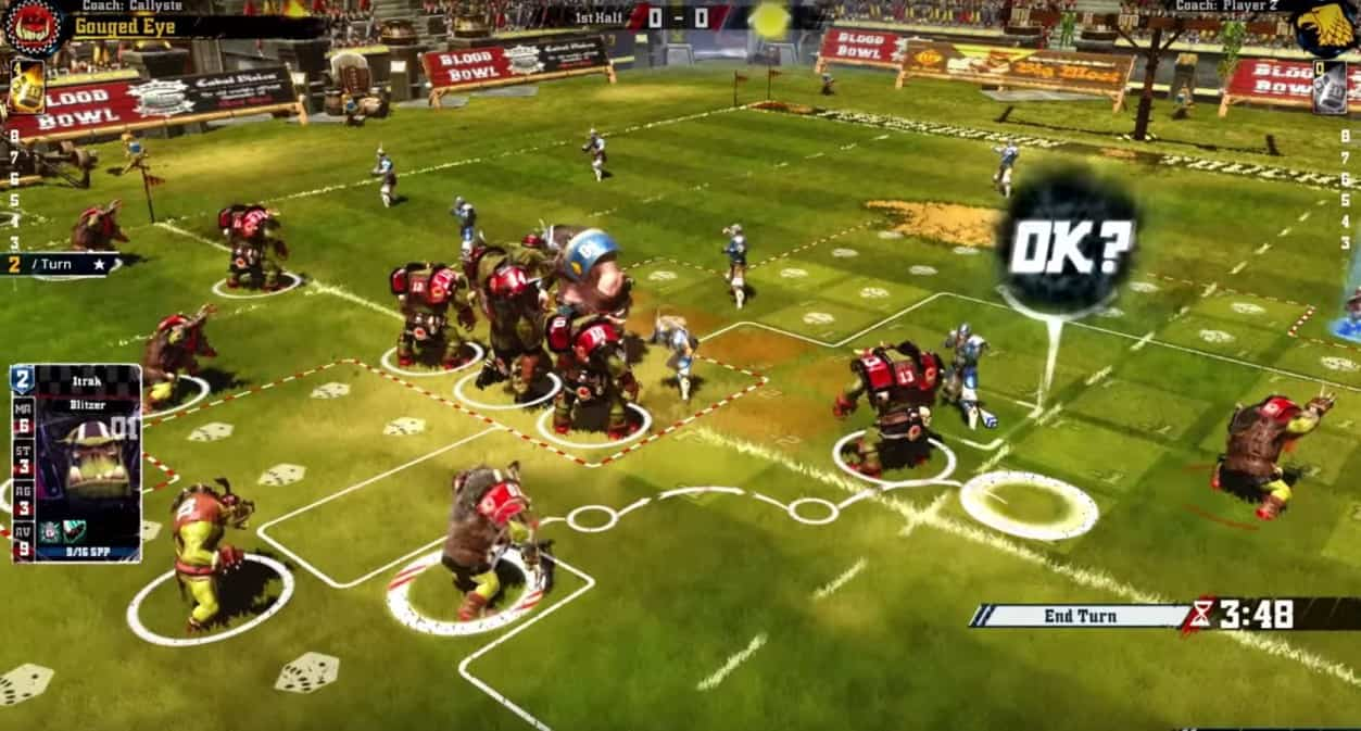blood bowl board game review