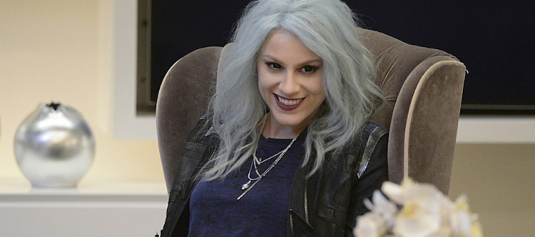"""Livewire"" -- When an accident transforms a volatile CatCo employee into the villainous Livewire (Brit Morgan, pictured), she targets Cat and Supergirl, on SUPERGIRL, Monday, Nov. 16 (8:00-9:00 PM, ET/PT) on the CBS Television Network. Photo: Darren Michaels/Warner Bros. Entertainment Inc. © 2015 WBEI. All rights reserved."