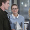 """Strange Visitor From Another Planet"" --  Cat's (Calista Flockhart, right) estranged son, Adam (Blake Jenner, left), arrives in National City, on SUPERGIRL, Monday, Jan. 25 (8:00-9:00 PM, ET/PT) on the CBS Television Network. Also pictured: Melissa Benoist Photo: Darren Michaels/Warner Bros. Entertainment Inc. © 2015 WBEI. All rights reserved."
