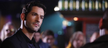 "LUCIFER: Tom Ellis in the ""Favorite Son"" episode of LUCIFER airing Monday, Feb. 29 (9:01-10:00 PM ET/PT) on FOX. ©2016 Fox Broadcasting Co. CR: Michael Courtney/FOX"
