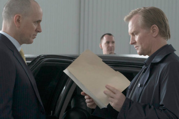 "THE BLACKLIST -- ""Alexander Kirk #14: Conclusion"" Episode 323 -- Pictured: (l-r) Ulrich Thomsen as Alexander Kirk -- (Photo by: Virginia Sherwood/NBC)"