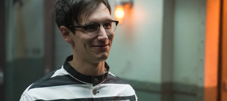 "GOTHAM:  Cory Michael Smith in the ""Wrath of the Villains: Unleashed"" episode of GOTHAM airing Monday, May 2 (8:00-9:01 PM ET/PT) on FOX. ©2016 Fox Broadcasting Co. Cr: Jeff Neumann/FOX"