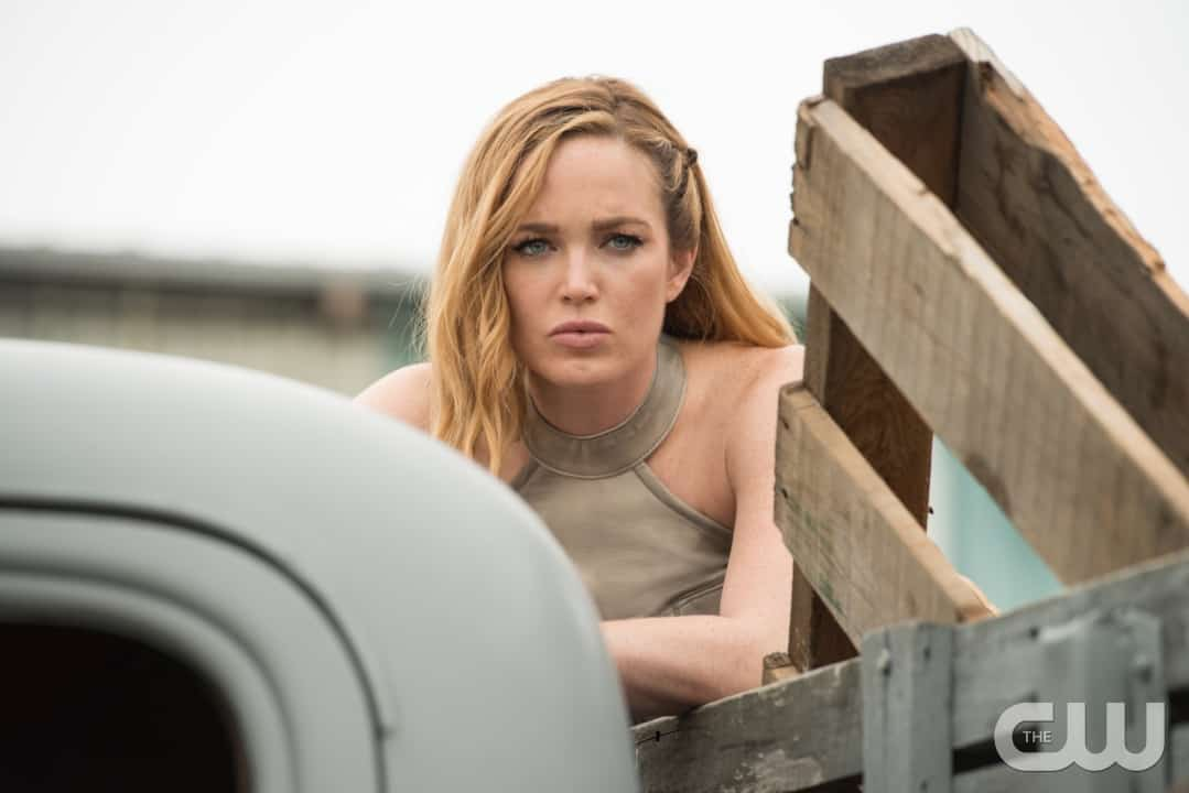 "DC's Legends of Tomorrow --""Out Of Time"" -- Image LGN201A_0030.jpg Pictured: Caity Lotz as Sara Lance/White Canary -- Photo: Diyah Pera/The CW -- © 2016 The CW Network, LLC. All Rights Reserved."