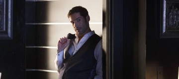 "LUCIFER: Tom Ellis in the ""Sin-Eater"" episode of LUCIFER airing Monday, Oct. 10 (9:01-10:00 PM ET/PT) on FOX.  ©2016 Fox Broadcasting Co. Cr: Michael Courtney/FOX."