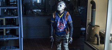 """Arrow -- """"A Matter Of Trust"""" -- Image AR503A_0054b.jpg --- Pictured: Rick Gonzales as Rene Ramirez/Wild Dog -- Photo: Diyah Pera/The CW -- © 2016 The CW Network, LLC. All Rights Reserved."""