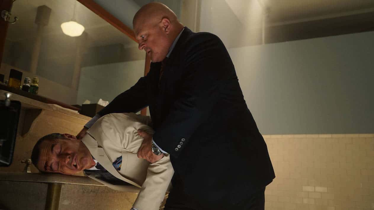 """GOTHAM: Michael Chiklis in the """"Mad City: Red Queen"""" episode of GOTHAM airing """"Mad City: Blood Rush"""" episode of GOTHAM airing Monday, Nov. 7 (8:00-9:01 PM ET/PT) on FOX. Cr: Jeff Neumann/FOX."""