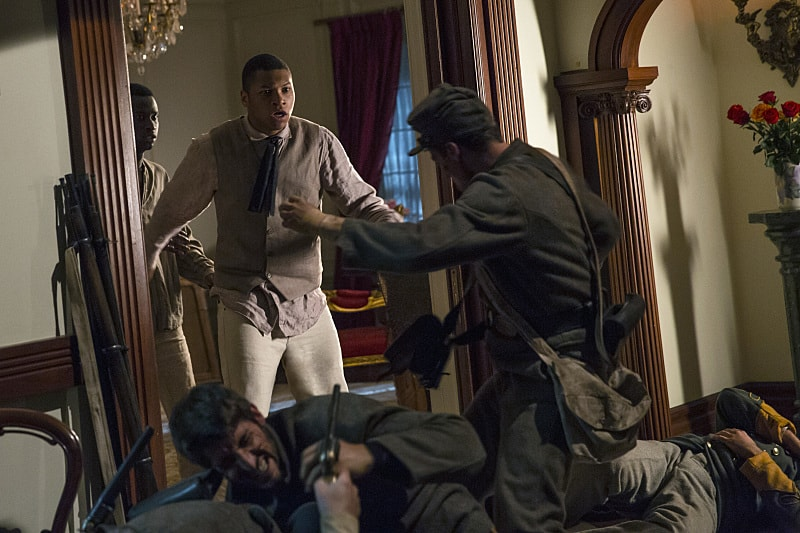 """DC's Legends of Tomorrow --"""" Abominations""""-- Image LGN204a_0085.jpg -- Pictured: Franz Drameh as Jefferson """"Jax"""" Jackson -- Photo: Katie Yu/The CW -- © 2016 The CW Network, LLC. All Rights Reserved."""