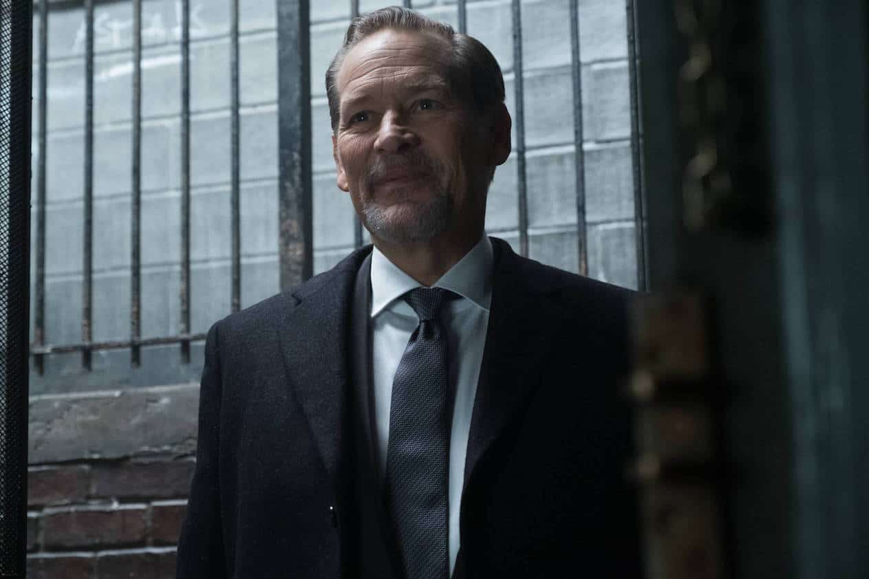 "GOTHAM: Guest star James Remar in the ""Mad City: The Gentle Art of Making Enemies"" winter finale episode of GOTHAM airing Monday, Jan. 30 (8:00-9:01 PM ET/PT) on FOX. Cr: Jessica Miglio/FOX."