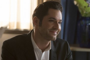"LUCIFER: Tom Ellis in the ""A Good Day to Die"" winter finale episode of LUCIFER airing Monday, Jan. 30 (9:01-10:00 PM ET/PT) on FOX. Cr: Michael Courtney/FOX."