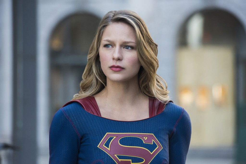 "Supergirl -- ""Mr. & Mrs. Mxyzptlk"" -- SPG213b_0048.jpg -- Pictured: Melissa Benoist as Kara/Supergirl -- Photo: Dean Buscher/The CW -- © 2017 The CW Network, LLC. All Rights Reserved"
