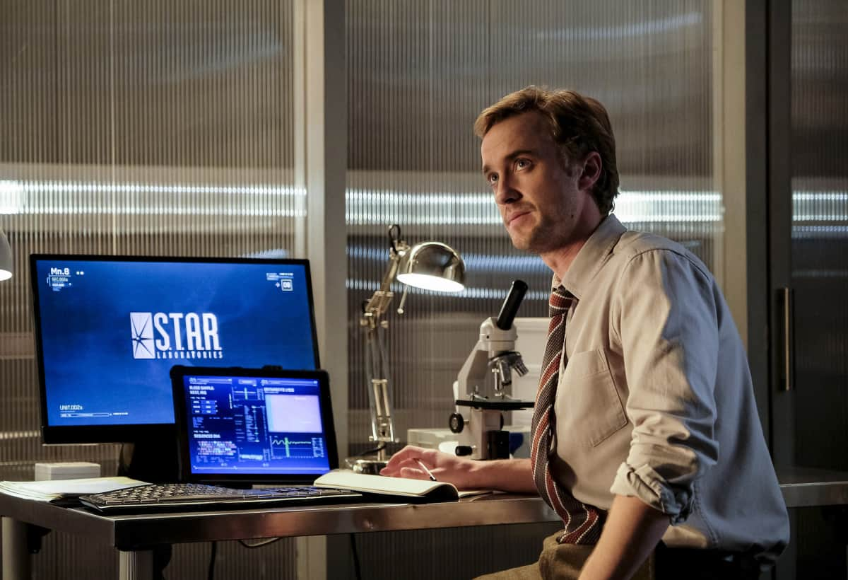 "The Flash -- "" Untouchable"" -- Image FLA312a_0044b.jpg -- Pictured: Tom Felton as Julian Albert -- Photo: Robert Falconer/The CW -- © 2017 The CW Network, LLC. All rights reserved."