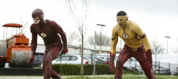 "The Flash -- "" Untouchable"" -- FLA312b_0024b.jpg -- Pictured (L-R):  Grant Gustin as The Flash and Keiynan Lonsdale as Kid Flash -- Photo: Bettina Strauss/The CW -- © 2017 The CW Network, LLC. All rights reserved."