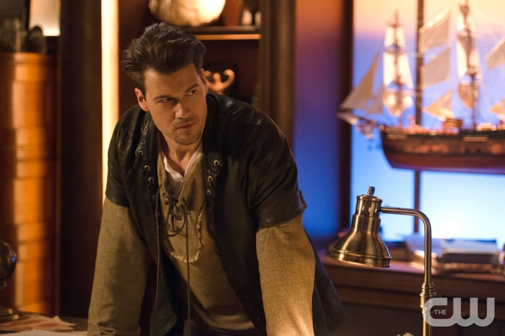 "DC's Legends of Tomorrow --""Camelot/3000""-- LGN212a_0106.jpg -- Pictured: Nick Zano as Nate Heywood/Steel -- Photo: Diyah Pera/The CW -- © 2017 The CW Network, LLC. All Rights Reserved"