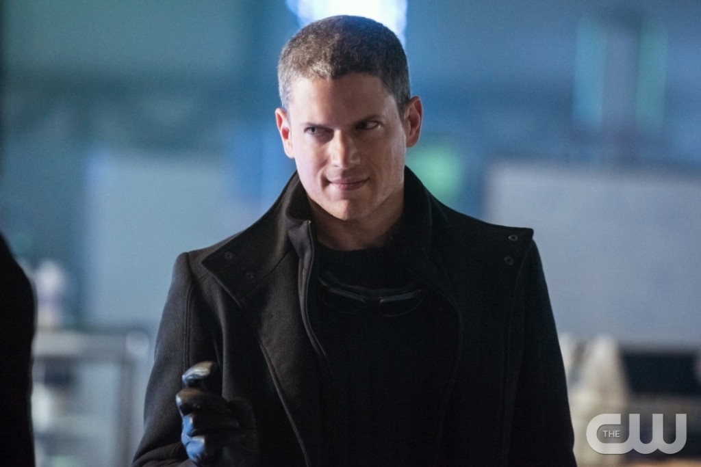 """DC's Legends of Tomorrow --""""Doomworld""""-- LGN216a_0311.jpg -- Pictured: Wentworth Miller as Leonard Snart/Captain Cold -- Photo: Dean Buscher/The CW -- © 2017 The CW Network, LLC. All Rights Reserved"""