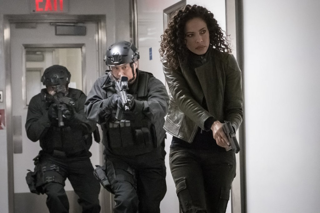 """THE BLACKLIST: REDEMPTION -- """"Whitehall: Conclusion"""" Episode 108 -- Pictured: Tawny Cypress as Nez Rowan -- (Photo by: Jeff Neuman/NBC)"""
