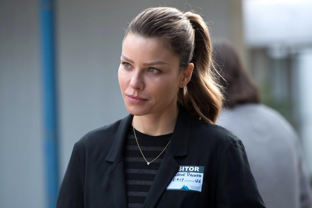 "LUCIFER: Lauren German in the ""God Johnson"" episode of LUCIFER airingMonday, May 15(9:01-10:00 PM ET/PT) on FOX. Cr: Jack Rowand/FOX"