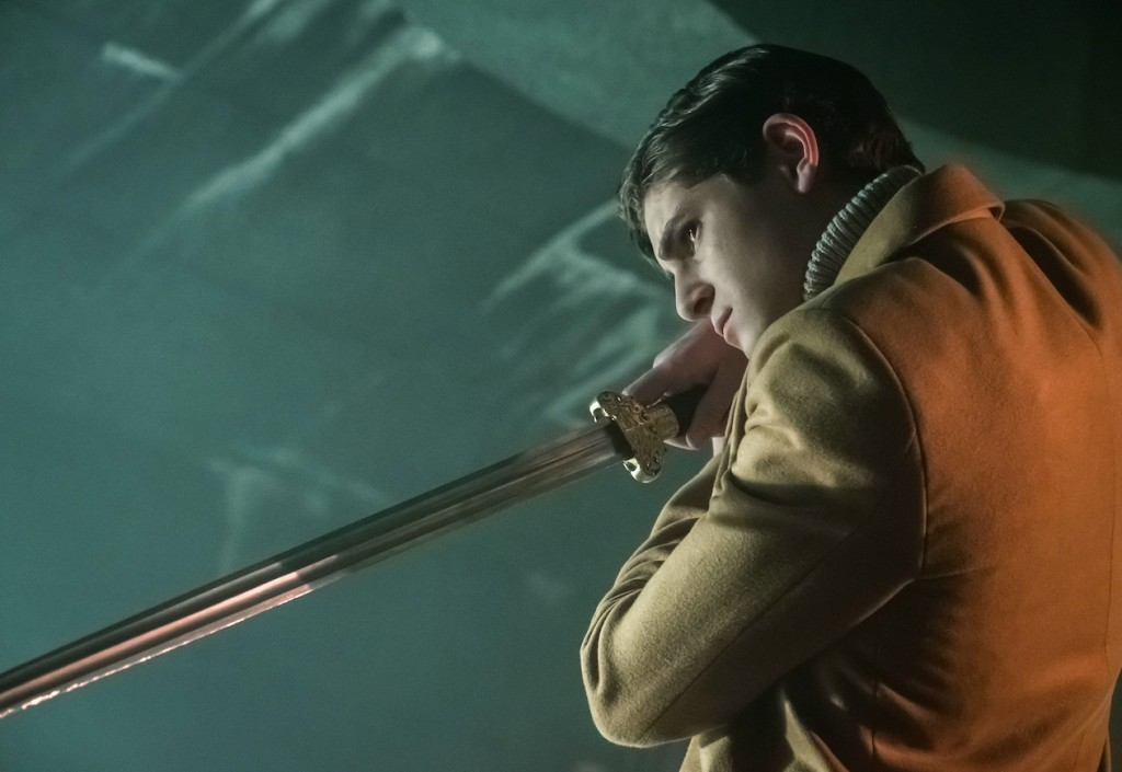 """GOTHAM: David Mazouz in the first half of the special two-hour season finale episode of GOTHAM, """"Heroes Rise: Destiny Calling,"""" airing Monday, May 29 (8:00-9:00 PM ET/PT) on FOX. Cr: Jeff Neumann/FOX"""