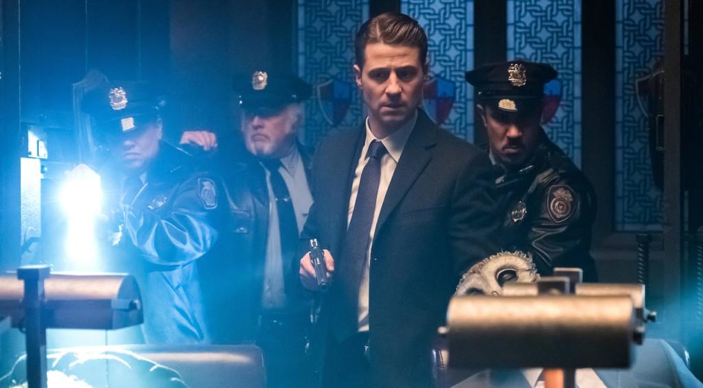 "GOTHAM: Ben McKenzie in the ""Heroes Rise: Pretty Hate Machine"" episode of GOTHAM airing Monday, May 29 (8:00-9:01 PM ET/PT) on FOX. Cr: Jeff Neumann/FOX"
