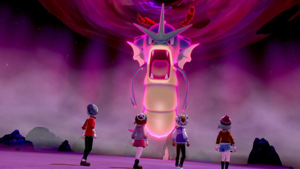 Pokémon Sword and Shield - Dynamax Gyarados
