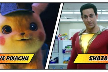 Detective Pikachu and Shazam split for SDCC.