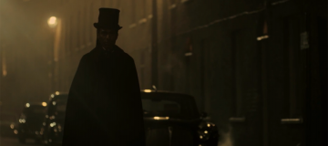 Image of John Ripper in a trench coat on Pennyworth