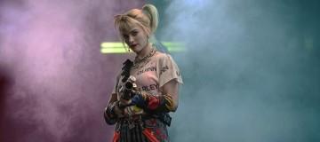 Harley Quinn with bean bag confetti cannon.